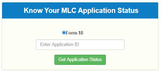 MLC Voter Application Status