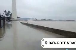Jadi Pusaran Bibit Siklon Seroja, Jaringan Komunikasi di Rote Ndao Putus Total