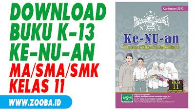 Download Buku Ke-NU-an K13 untuk MA/SMA/SMK Kelas 11