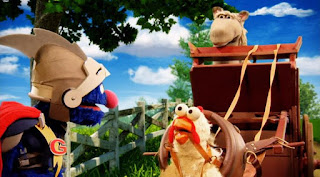 Sesame Street Episode 4313 The Very End of X season 43, Horse, chicken, pig, Super Grover 2.0 The Cart Before the Horse