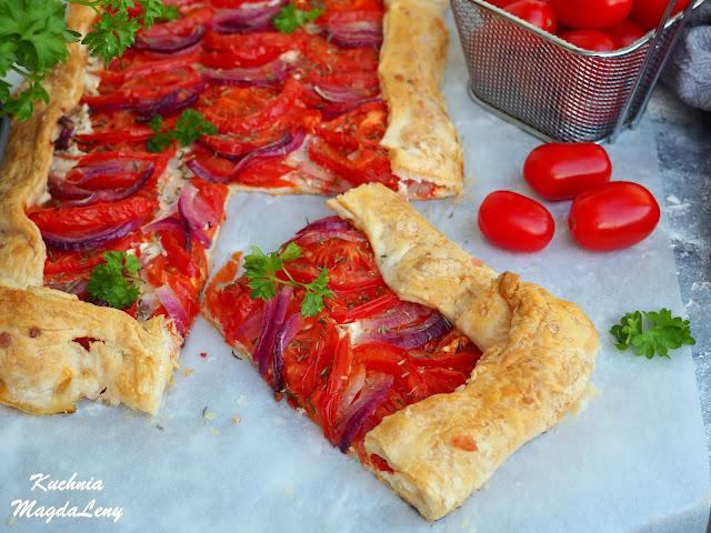 Tarta francuska z pomidorami