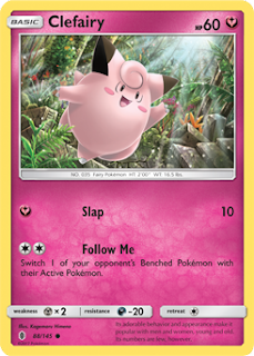 Clefairy Guardians Rising Pokemon Card