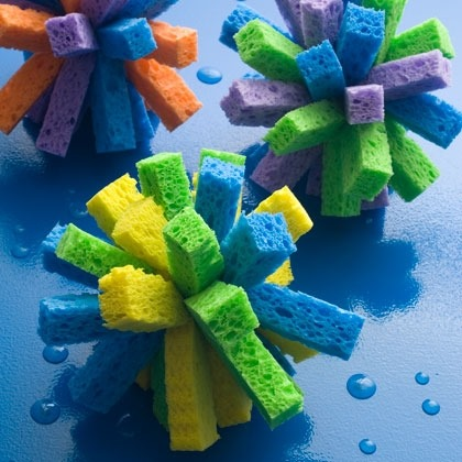 Summer Craft: Sponge Ball Square Arms