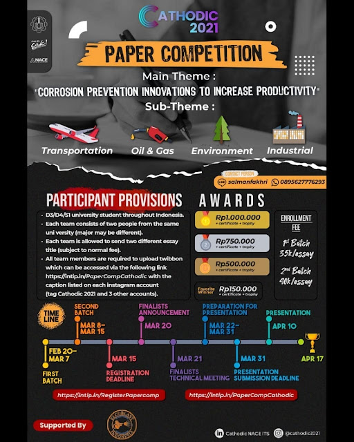 """PAPER COMPETITION  tema """"Corrosion Prevention Innovations To Increase Productivity"""""""