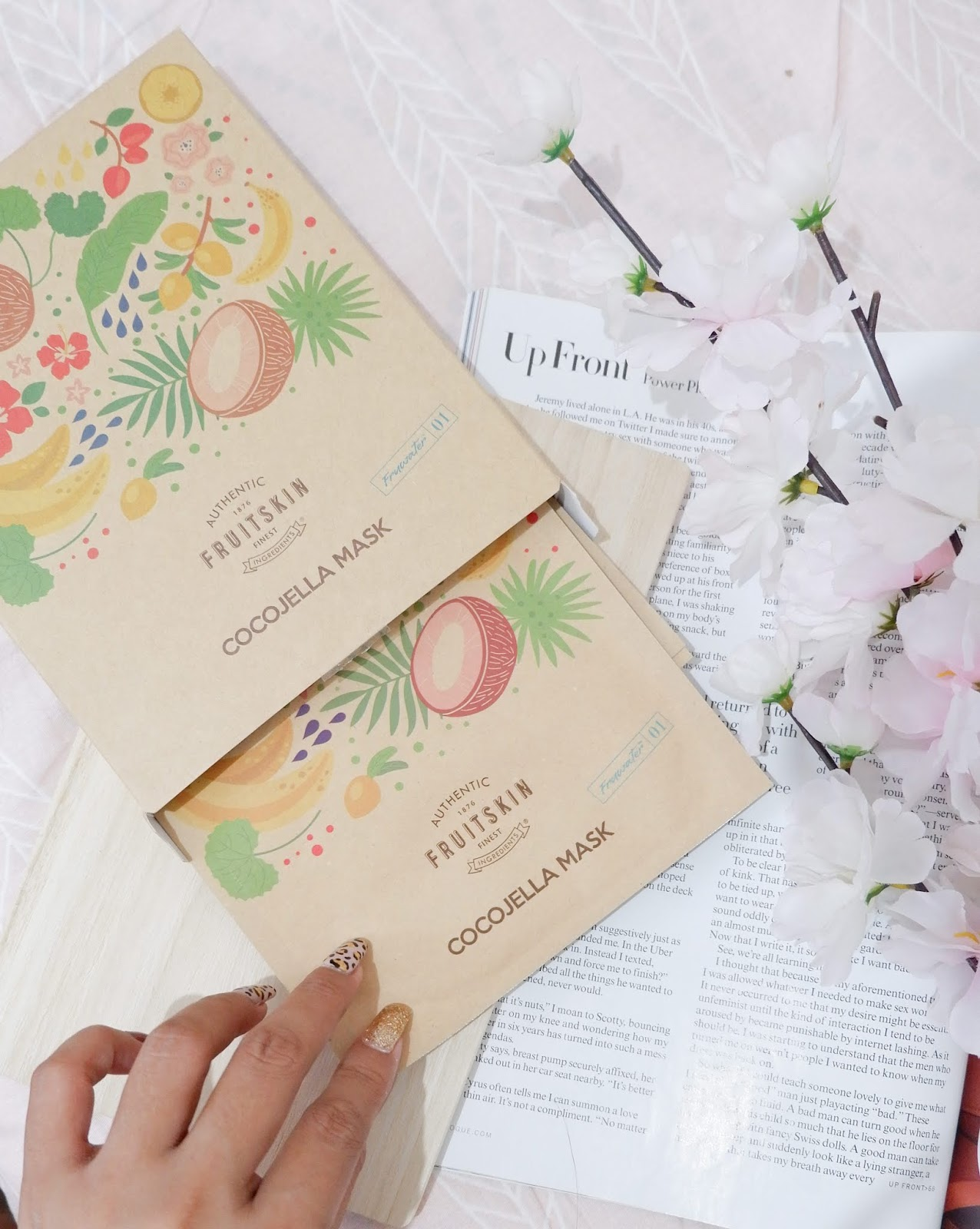 FRUITSKIN COCOJELLA SHEET MASK REVIEW
