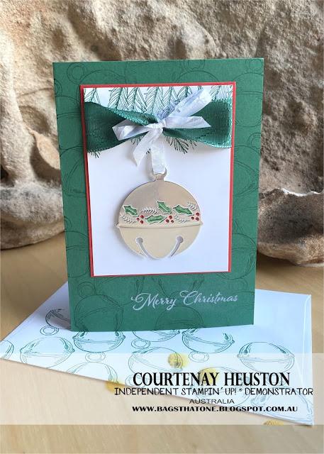 Cherish the Season Bundle silver bell card