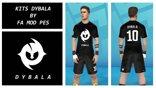 PES 2017 Dybala Fantasy Kits By FA Mod Pes