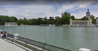 Buen Retiro Park is one of the largest parks in Madrid Spain