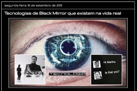 A realidade de Black Mirror