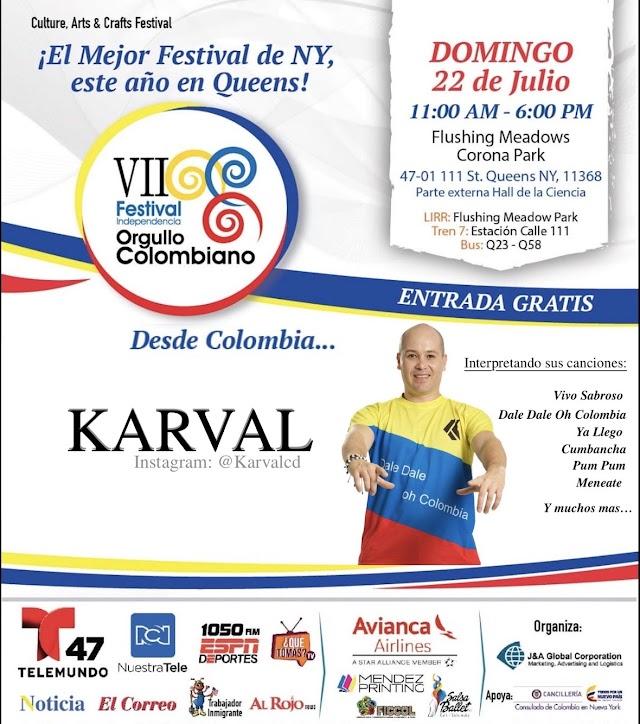 La independencia de Colombia en New York se celebra con KARVAL