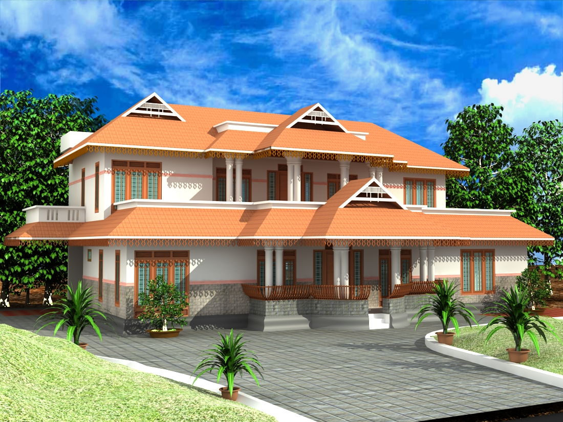 3d max: house design