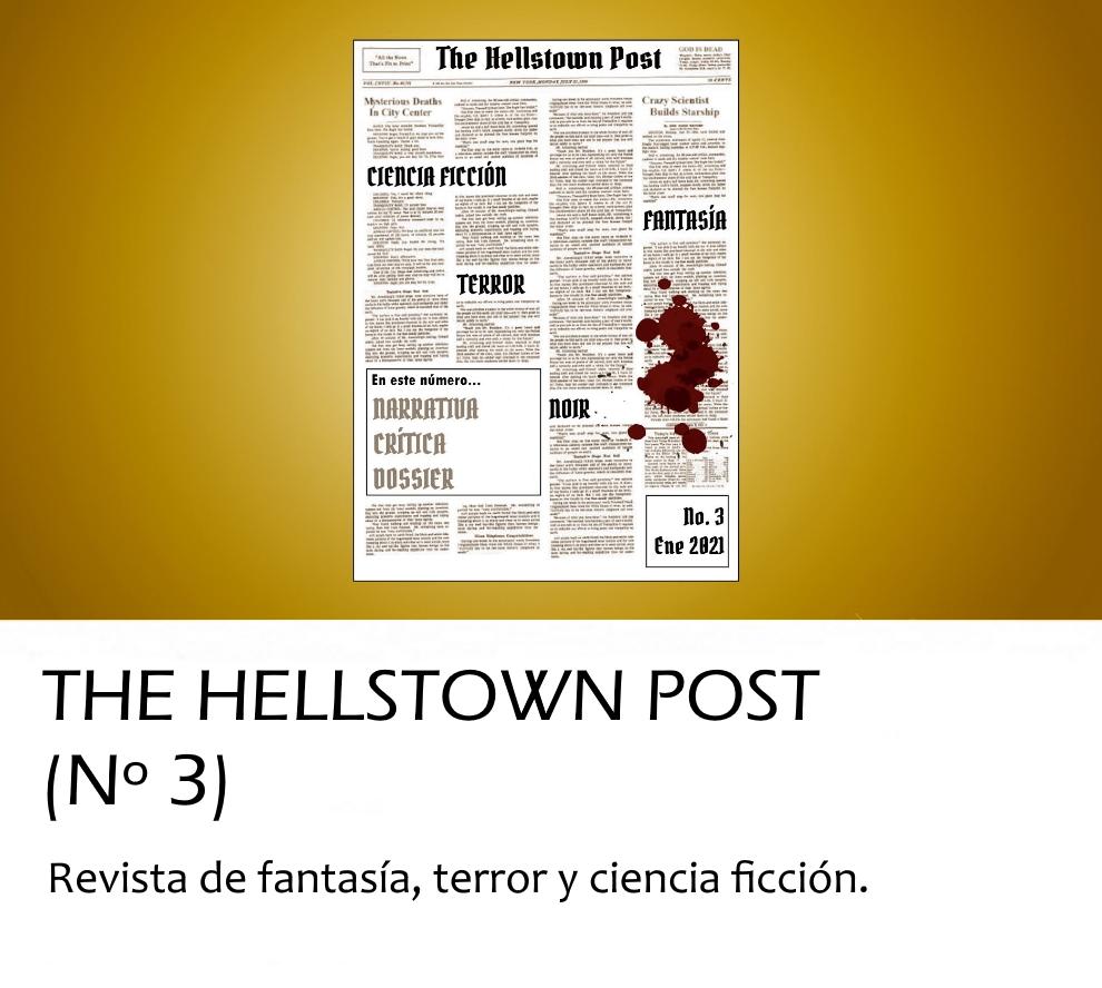 The Hellstown Post. Revista de fantasía, terror y ci-fi | Onirium. Fantasía, terror y ciencia ficción.