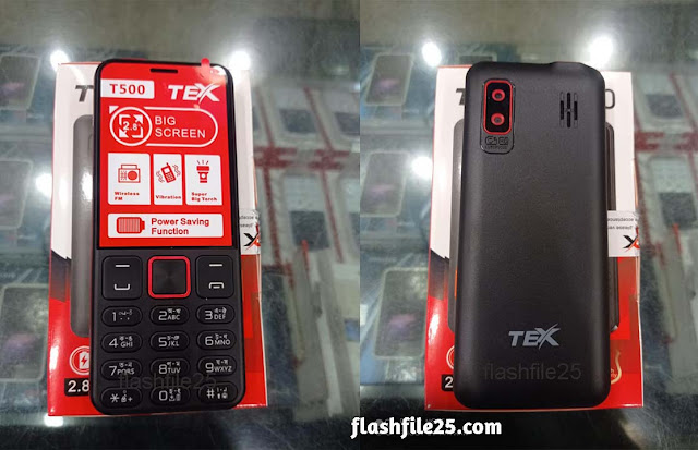 tex t500 flash file firmware