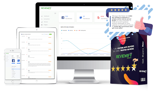 [GIVEAWAY] Reviewify360 [BOOST The Social Proof Authority Of Any Website]