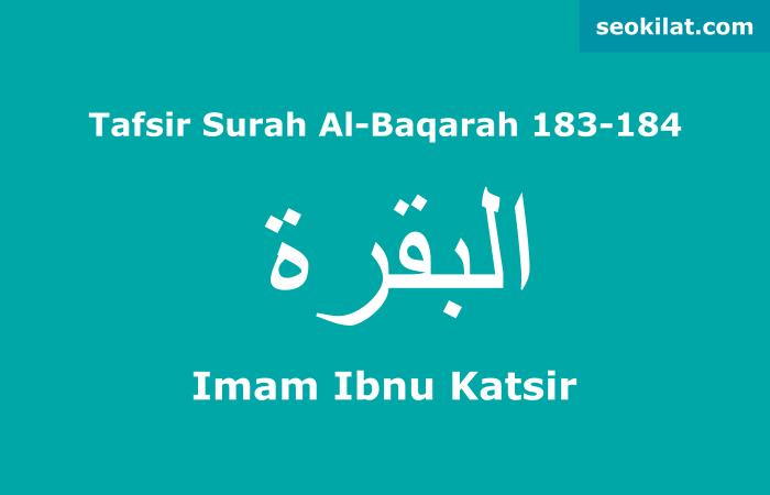 Tafsir Surah Al-Baqarah ayat 183