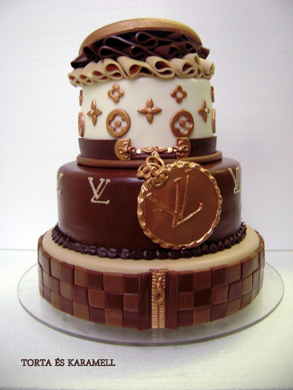 extrém szülinapi torták Kricky konyhája: Louis Vuitton torta extrém szülinapi torták