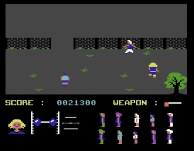 Friday the 13th Commodore 64 Game Screen