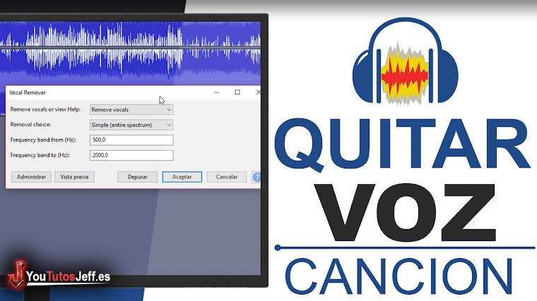 Como Quitar la Voz de una Canción - Sacar Voz del Cantante