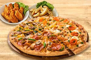 ピザ+サイドメニュー2品1,999円