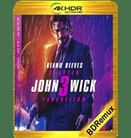 JOHN WICK: CAPÍTULO 3 – PARABELLUM (2019) BDREMUX 2160P HDR MKV ESPAÑOL LATINO