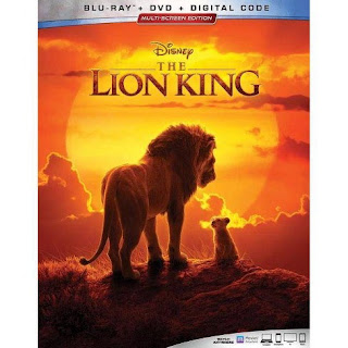 THE LION KING (2019) Blu-ray box art