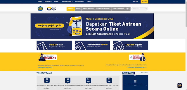 daftar npwp online 2021
