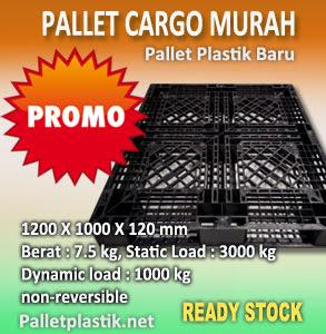 Promo Pallet Plastik Baru Cargo Sangat Murah