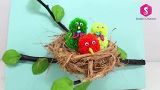 Cara Membuat Boneka dari Sabut Kelapa