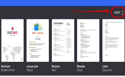 4 Great New Google Docs Templates for Teachers ~ Educational Technology and Mobile Learning