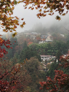 Mount Mitake autumn