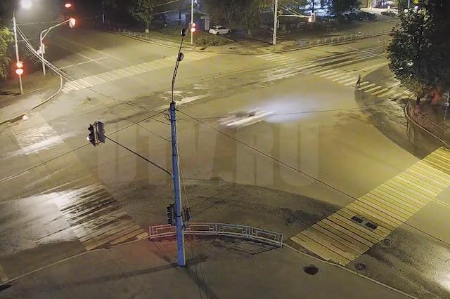 Видео момента смертельного ДТП в Уфе