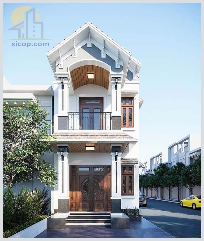 Mẫu nhà đẹp hiện đại, 2 tầng, 3 tầng và các mẫu biệt thự chung cư