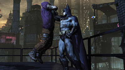 Captura de pantalla de 'Batman: Arkham City'