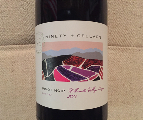90+ Cellars Lot 137 Willamette Valley Pinot Noir 2015