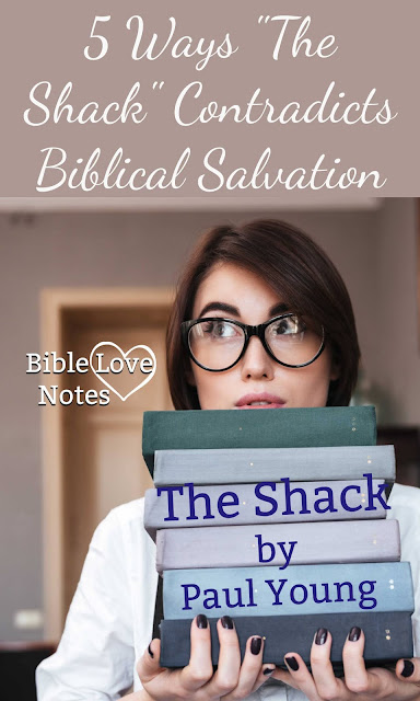 The author admits he doesn't believe traditional Christianity. The Shack misrepresents God in these 5 ways and more.