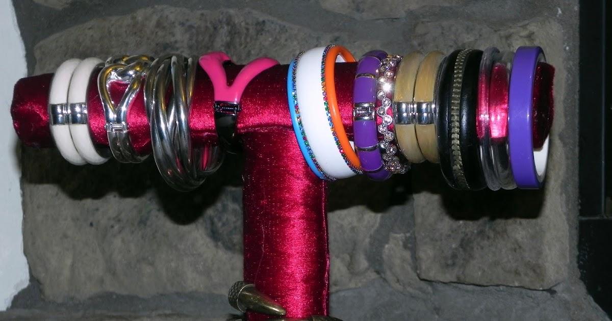 Smart n Snazzy: DIY ~ Bracelet Holder