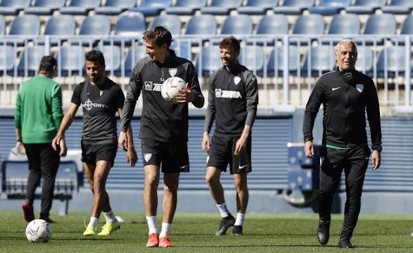 Málaga, plan de entrenamiento de la semana del 22 al 28 de Marzo