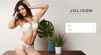 oferta de ropa interior mujer de la marca Jolidon en enero 2017