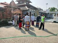 Patroli Polsek Jetis Kunjungi Tokoh Agama di Masjid Jami' Tegalsari Kecamatan Jetis