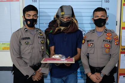 Buronan Narkoba dari Aceh Timu Jibeureukah Le Peulisi, 13 Paket Sabu keu Bukti