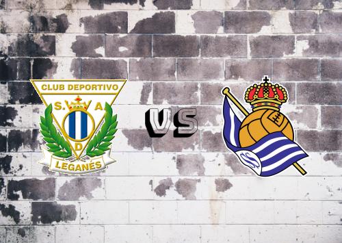 CD Leganés vs Real Sociedad  Resumen