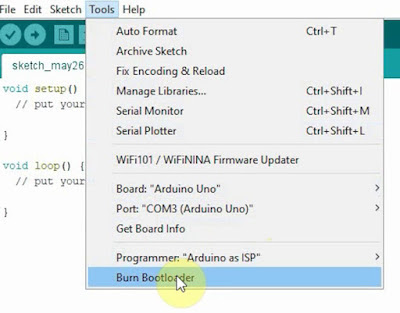 How to Bootload Atmega328p using TWO Arduino UNO