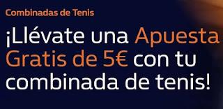 william hill Apuesta Gratis de 5€ combinada de tenis