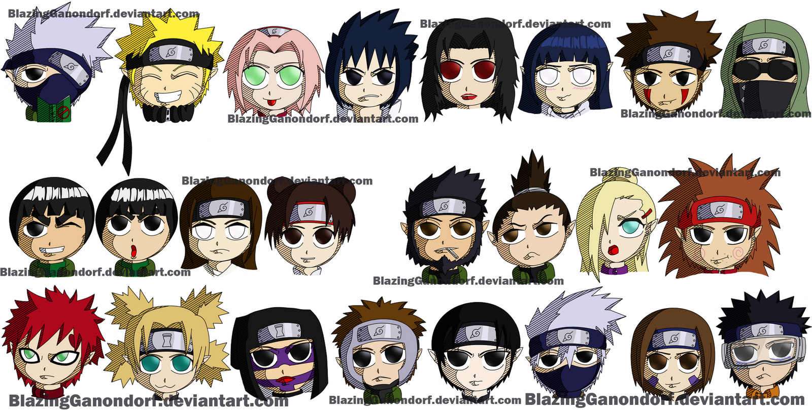 Chibi Naruto Shippuden Characters