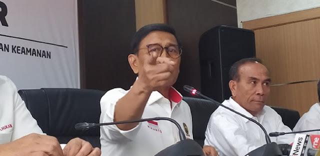 Wiranto: Benny Wenda Bagian Konspirasi Kerusuhan Papua