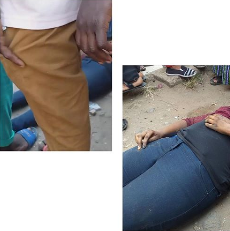 Lady Dies After Misstepping While Trying To Get Down From A Bus