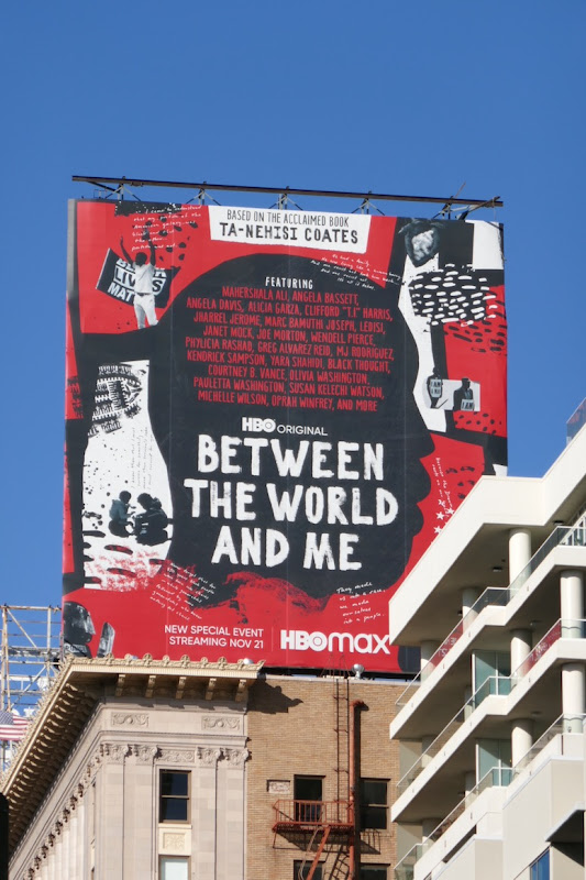 Between the World and Me TV event billboard