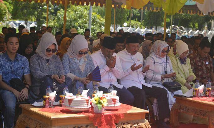 Sebelum Daftar di KPU, Tafadal Gelar Silaturahmi Akbar