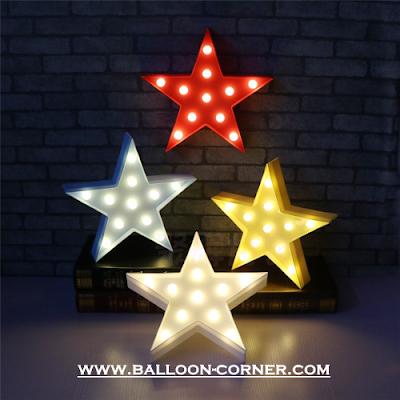 Lampu LED Bentuk Bintang / Star