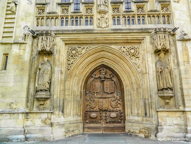 Portal Oeste da Abadia de Bath, do Século 16